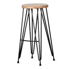 hairpin stool the table and chair co