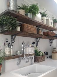 Kitchen Bookcase Ideas by διακόσμηση κουζίνα σε Country Cottage στυλ Scaffold Boards