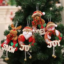shop doll with letters tree hangings with bells