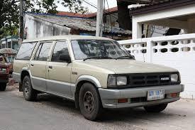 mazda wagon file mazda b2500 wagon in ubon thailand jpg wikimedia commons