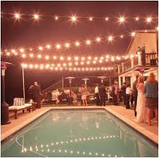 Backyard String Lighting Ideas Pool Patio Lighting Ideas 25 Best Ideas About Backyard String