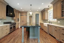 what backsplash goes with light wood cabinets 43 new and spacious light wood custom kitchen designs