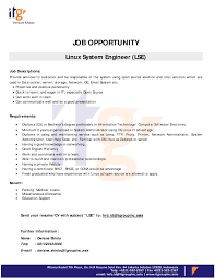 system administrator experience resume format system administrator job description free sample example senarai administrator stmik indonesia linux system administrator job description