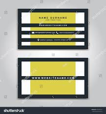 vector business card creative design modern stock vector 552455401