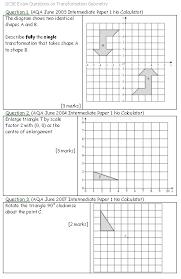 transformation math worksheets worksheets