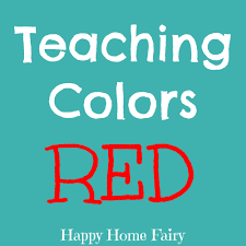teaching colors red teaching colors fun activities and color red