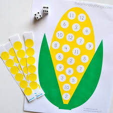 preschool corn counting activity with printable i crafty things