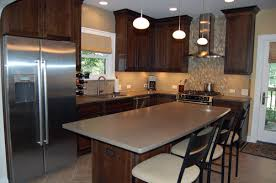 kitchen wall color ideas with dark cabinets nrtradiant com