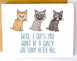 cat card etsy