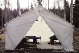 wall tent a canvas wall tent cing without hauling a trailer