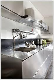 plan de travail inox cuisine quel matériau choisir pour plan de travail de cuisine