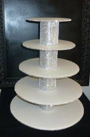 rhinestone cake stand 5 tiered cake stand best bling cupcakes ideas on tier faux