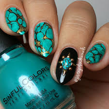 nail art beautiful turquoise nail art picture design best designs