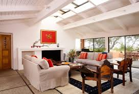 Best Red Living Rooms Interior Design Ideas - Living room designs 2012