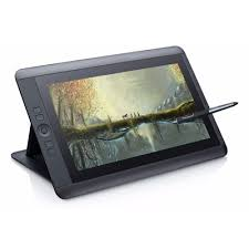 wacom cintiq 13hd touch graphic tablet dth 1300 k0 f drawing