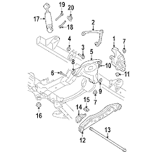 2005 dodge dakota front suspension diagram parts com dodge front suspension suspension components lower