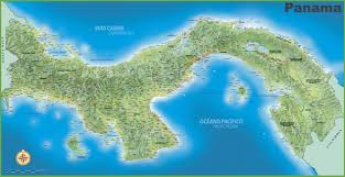 Panama World Map by Panama Maps Maps Of Panama