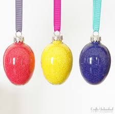 egg ornament tutorial sprinkle eggs crafts unleashed