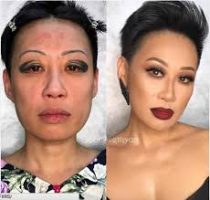 Eyebrow Tattoo Before And After 16 Incredible Before And After Makeup Transformations