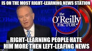 Bill O Reilly Meme Generator - bill o reilly fox news memes imgflip