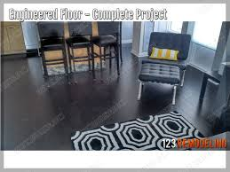 Engineered Hardwood Flooring Installation Downtown Chicago Condo Engineered Flooring Installation 123