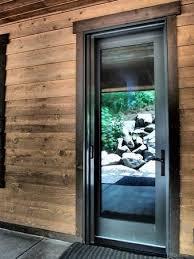 Exterior Back Door Retractable Screens Back Doors The Screen Door