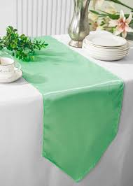 sage green table runner sage green satin table runners
