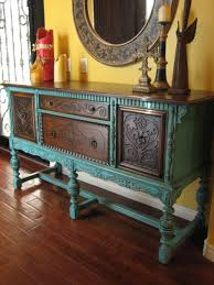 love this combination of painted and stained wood helps to have a