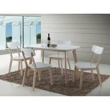 cuisiner les revisses ensemble oslo blanc table de cuisine et salle à manger design set