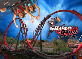 Six Flags Fear Fest Harley Quinn Crazy Coaster To Debut At Six Flags Discovery Kingdom