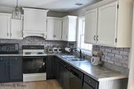 2 Tone Kitchen Kitchen Gray Wash Pantry Cabinets Airmaxtn