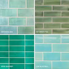 Bathroom Tiles Color Wonderful Subway Tile Colors Kitchen Photo Ideas Tikspor