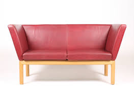 Cheap Red Leather Sofas by Two Seater Red Leather Sofa 1980s For Sale At Pamono