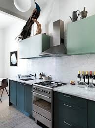 Grey And Turquoise Kitchen by The New Hues Blue Grey U0026 Green In The Kitchen Apartment Therapy