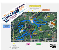 Syracuse Map Mello Velo Bicycle Shop Syracross Course Map Syracuse Ny