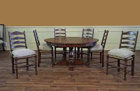 Country Dining Room Tables by 62 78 Jupe Table For Sale Round To Round Country Dining Table