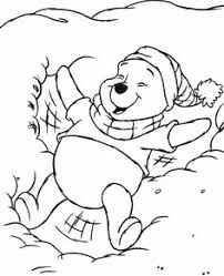 download print winnie pooh disney spring coloring pages