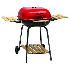 backyard charcoal grill americana swinger charcoal grill in red 4105 0 511 the home depot