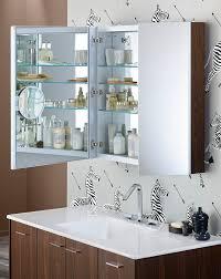 Bathroom Mirror Cabinets by Bright Mirrored Medicine Cabinet Decorating For Bathroom Contemporary