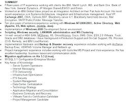 exle of a resume summary summary resume exles luxsos me