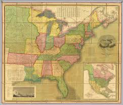 The Map Of North America by Map Of The United States Of North America David Rumsey