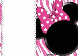 free printable minnie mouse birthday invitations u2013 bagvania free