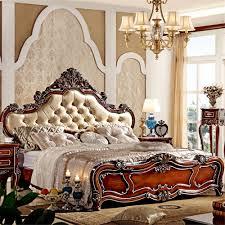 European King Bedroom Sets Aliexpress Com Buy European Style Luxury King Size Wooden