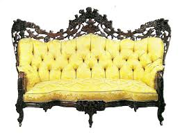 yellow antique sofa by jinifur on deviantart