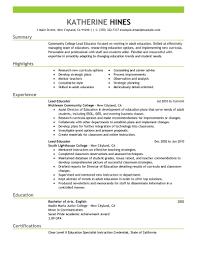 Sample Resume For Kindergarten Teacher by Lead Teacher Resume Samples Visualcv Resume Samples Database Lead