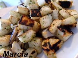 cuisiner le celeri petits dés de céleri sautés marciatack fr