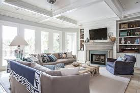 Coastal Cottage Living Rooms by Beach House Decor