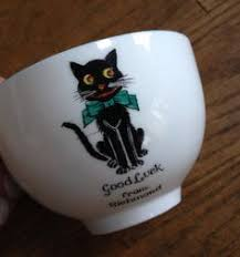arcadian china details about arcadian china lucky black cat brewood