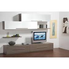 Meuble Tv Blanc Laque Pas Cher by Composition Murale Tv But Wall Murals You U0027ll Love