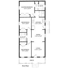 southern style house plan 3 beds 2 00 baths 1051 sq ft plan 325 229